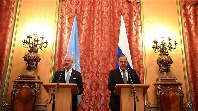 """Lavrov: AS dan Sekutunya """"Membom"""" Pembicaraan Damai Suriah"""