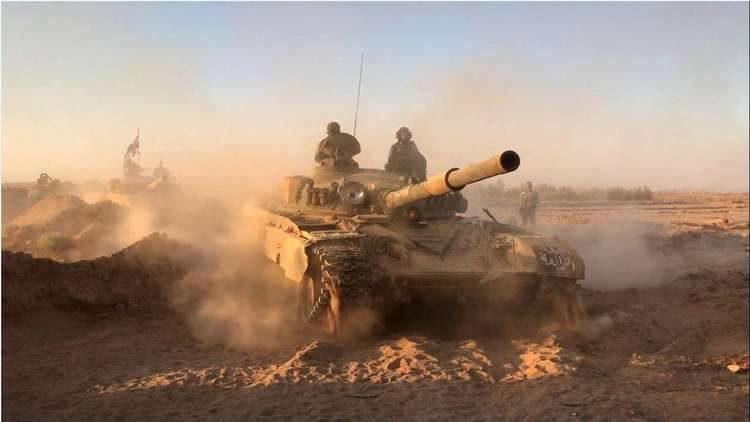 Pemberontak di Timur Qalamoun Kibarkan Bendera Putih