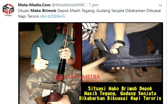 Kerusuhan di Mako Brimob, Dikabarkan Napi Teroris Kuasai ...