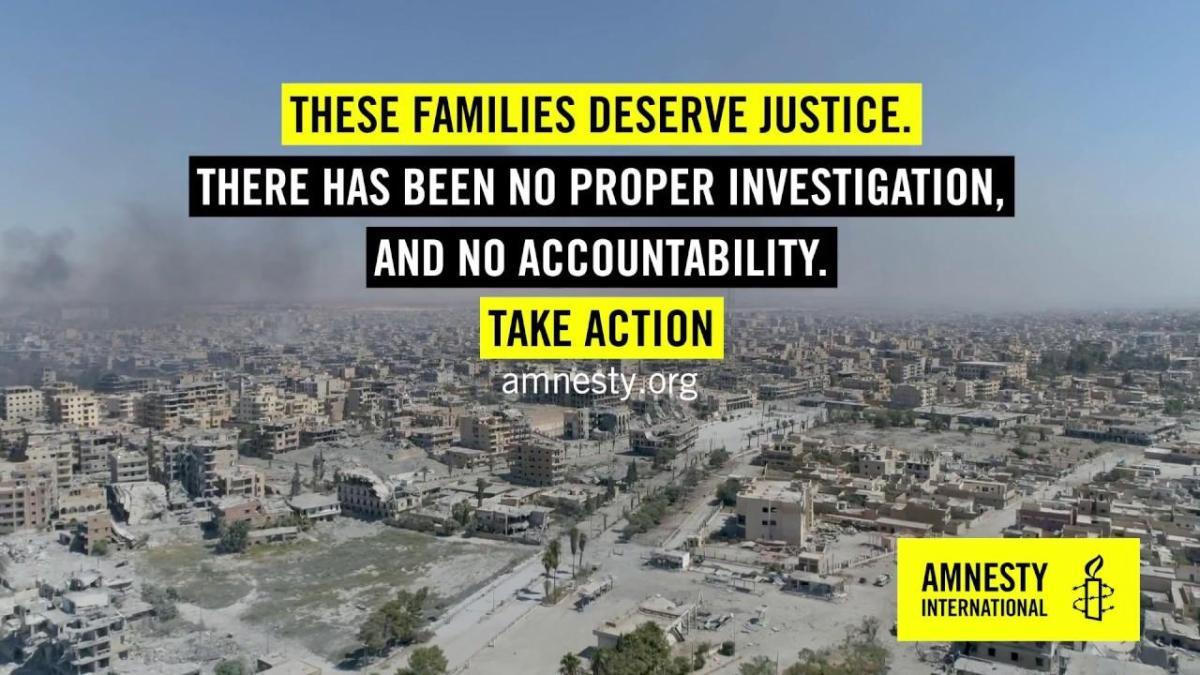 Investigasi Amnesty Bongkar Kejahatan Perang AS, Inggris dan Prancis di Raqqa