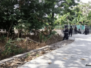 Penggeledahan Rumah BW di Karanganyar