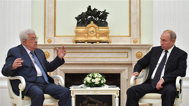 Presiden Palestina Temui Putin Keluhkan Perilaku AS di Kawasan