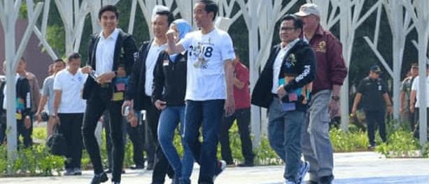 Jokowi dan Menpora Malaysia