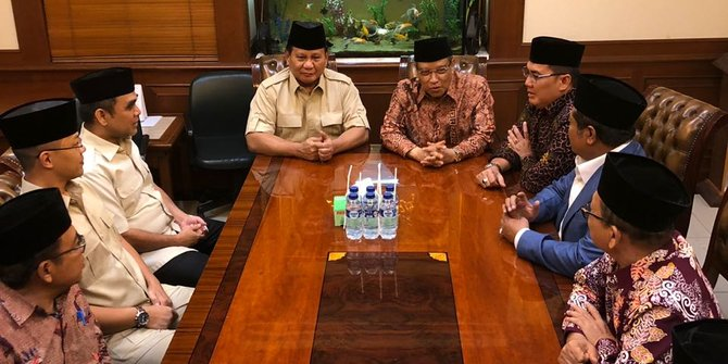 Prabowo Mendadak Temui Ketum PBNU, Ada Apa?