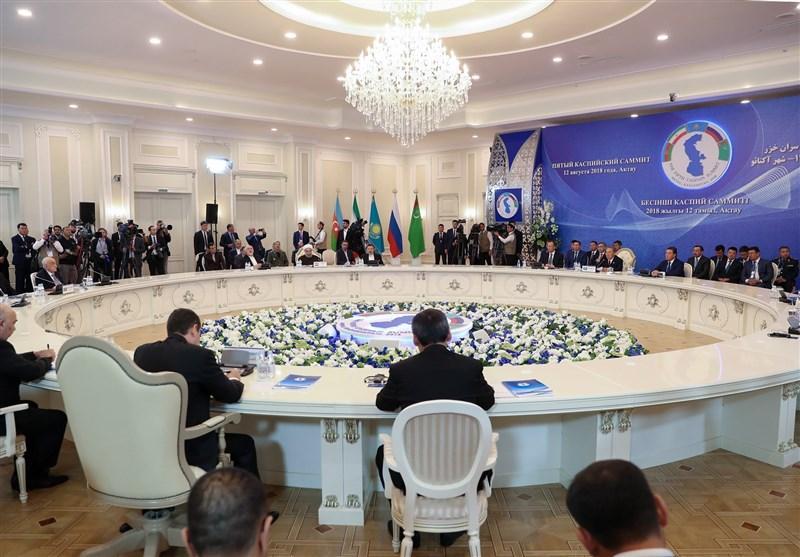 Iran dan 4 Negara Lain Tandatangani Status Hukum Laut Kaspia