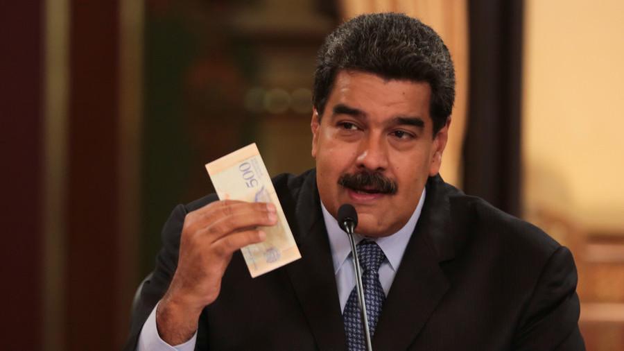 Singkirkan Dolar, Maduro Tetapkan Nilai Tukar Tunggal Terkait Petro