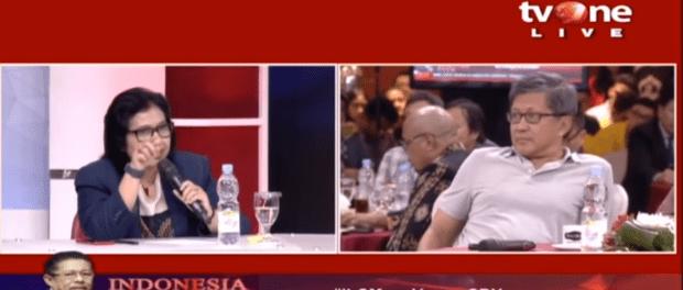 Irma Suryani Chaniago VS Rocky Gerung