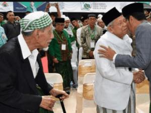 KH Ma'ruf Amin dan Jokowi