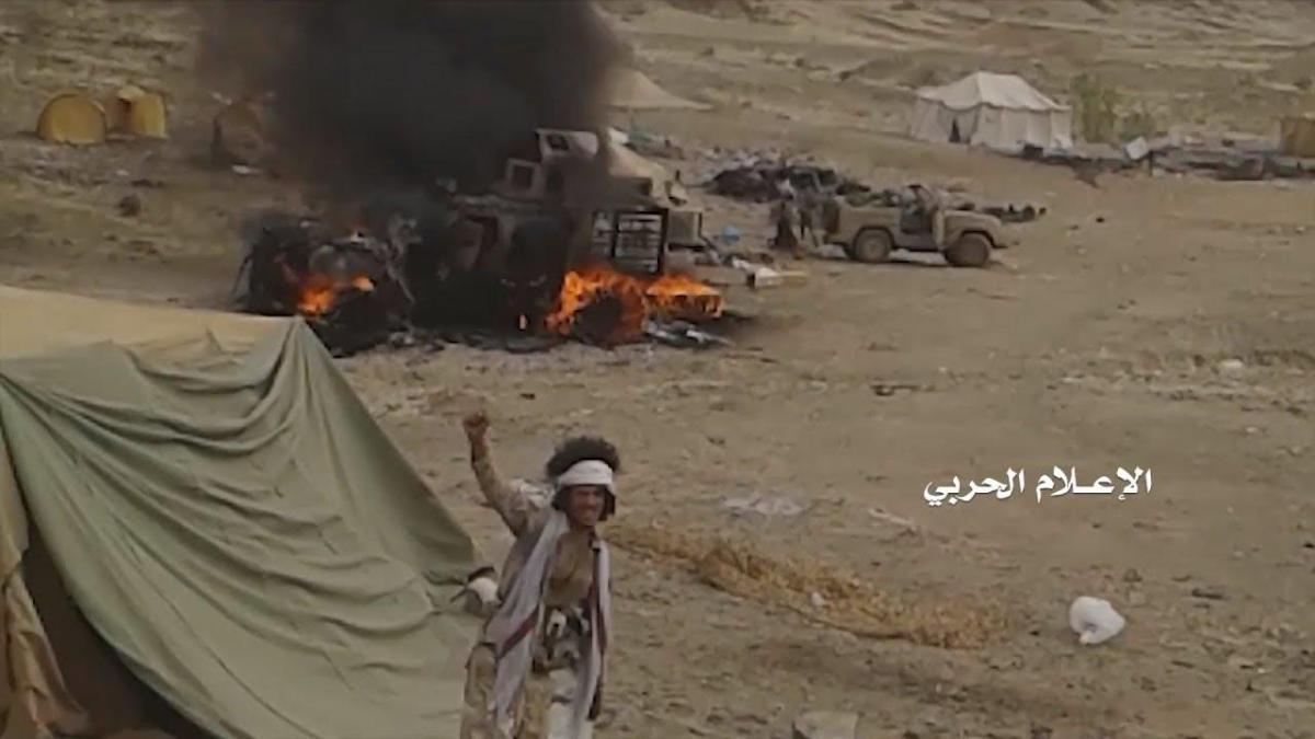 VIDEO: Pasukan Houthi Sergap Belasan Tentara Bayaran Saudi di Perbatasan