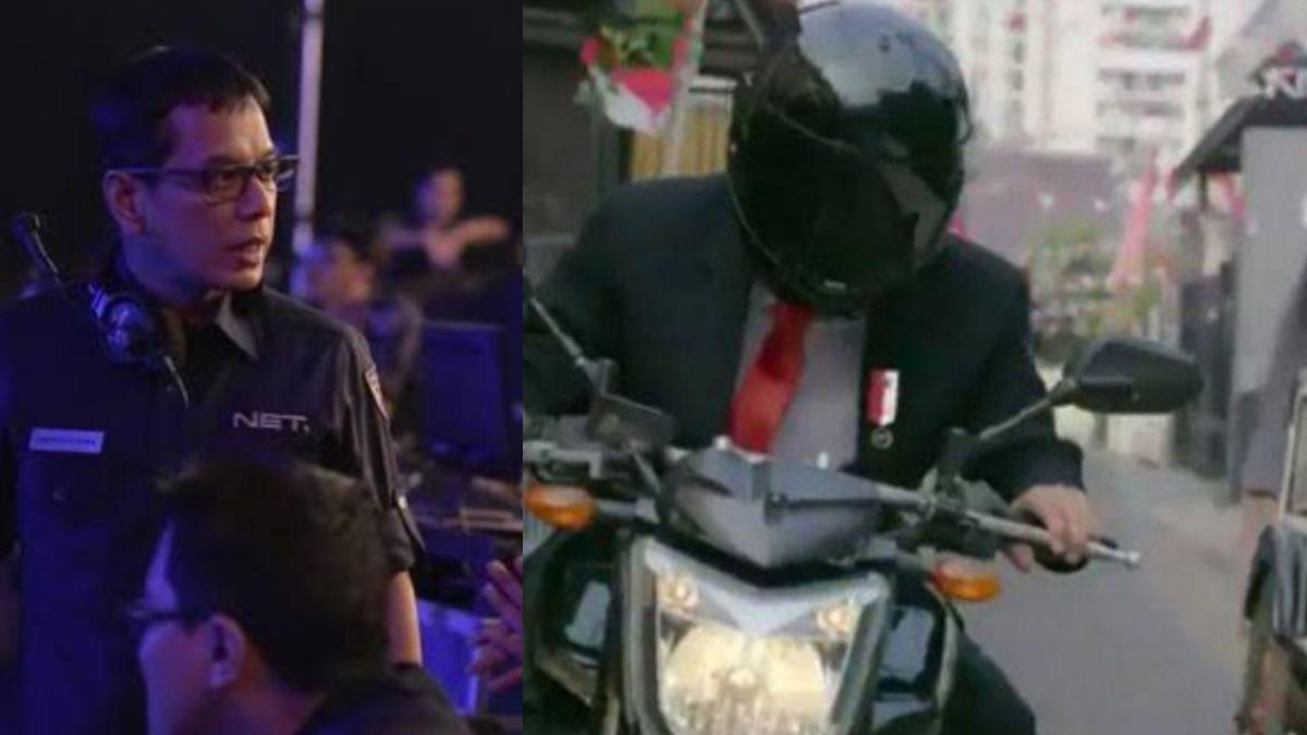Aksi Jokowi Dinyinyiri, Wishnutama: Masak Iya Presiden Saya Suruh Loncat Naik Motor?