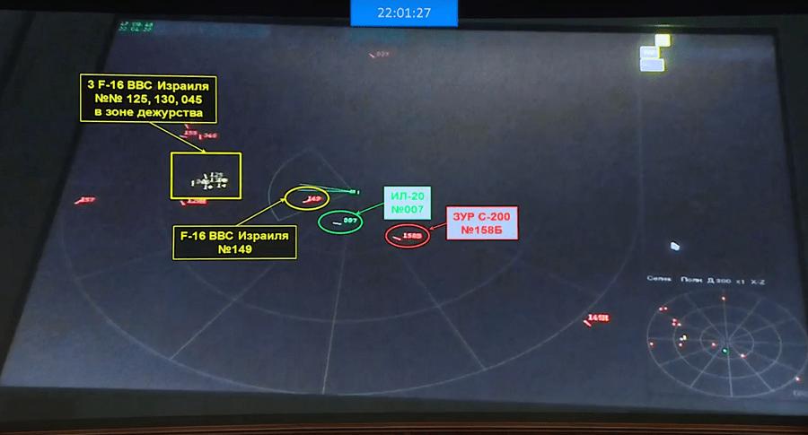 Data S-400 Buktikan F-16 Bersembunyi di Balik Il-20 Rusia dari Kejaran Misil