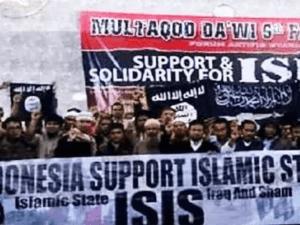 Bendera HTI dan ISIS
