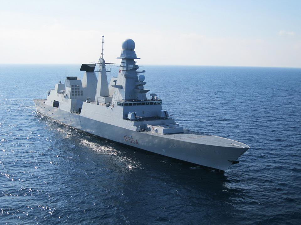 Rusia: Kapal Frigat Prancis Tembakkan Rudal ke Latakia