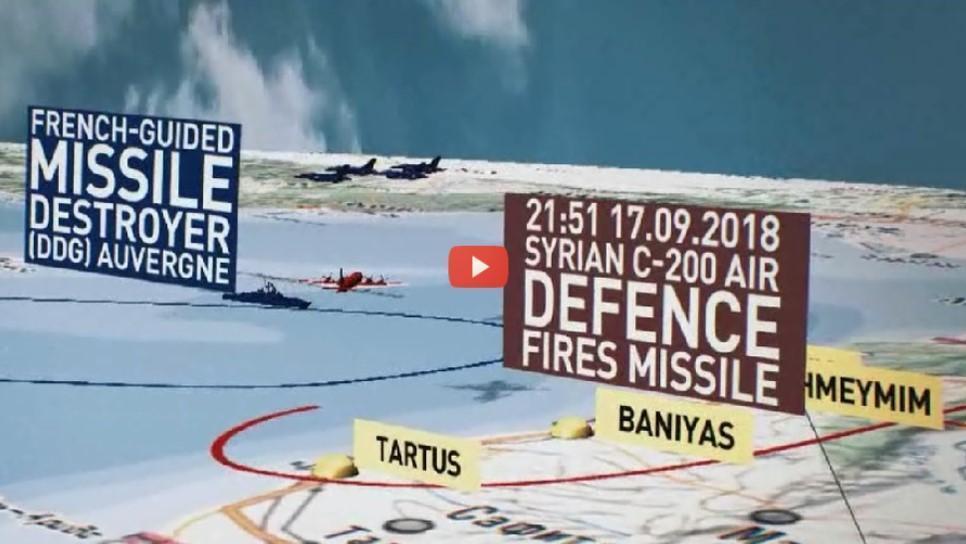 Menhan Rusia Beberkan Kronologi Jatuhnya Pesawat IL-20 di Suriah: VIDEO