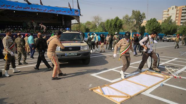 11 Orang Tewas dalam Serangan Teroris pada Parade Militer Iran di Ahvaz