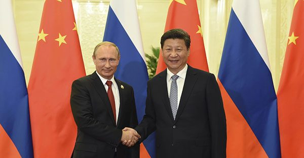 BEIJING: Dengan Kerjasama, China-Rusia Mampu Atasi Konsekuensi Sanksi AS
