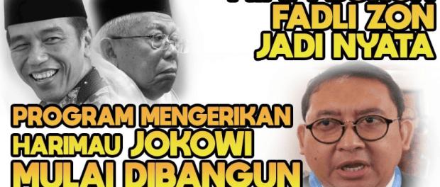 Harimau Jokowi Somasi Fadli Zon