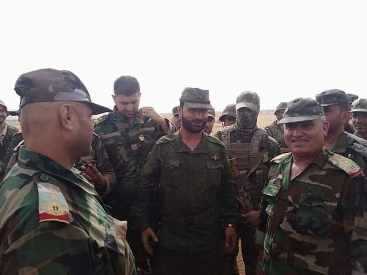 Komandan Pasukan Harimau Suriah Tiba di Timur Idlib