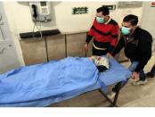 Korban Serangan Kimia di RS Suriah