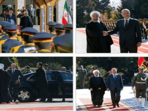 Kunjungan Presiden Irak di Teheran