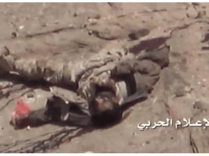 Mayat Tentara Pro Saudi