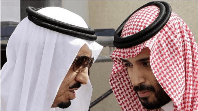 Raja Salman dan Mohammed bin Salman