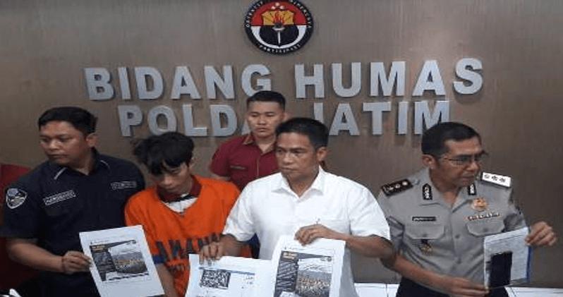 Bravo, Subdit V Ditreskrimsus Polda Jatim Tangkap Penyebar Hoaks