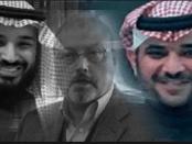 Foto MbS, Khashoggi dan Qahtani