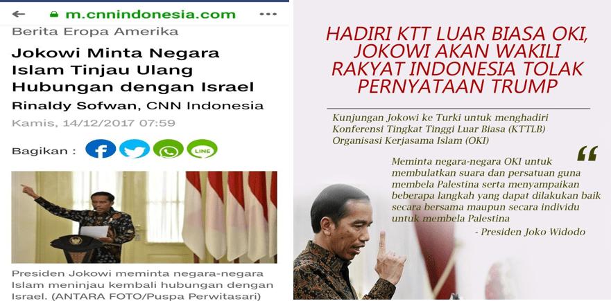 Pengamat: Kesetian Indonesia dan Jokowi ke Palestina