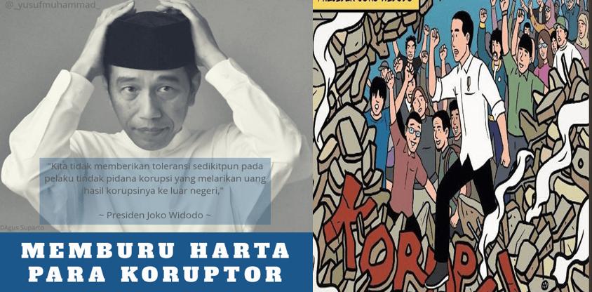 Yusuf Muhammad: Jokowi Buru Harta Para Mafia dan Koruptor di Luar Negeri