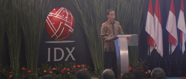 Jokowi Penutupan IHSG