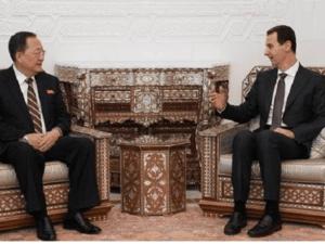 Menlu Korut dan Bashar Assad