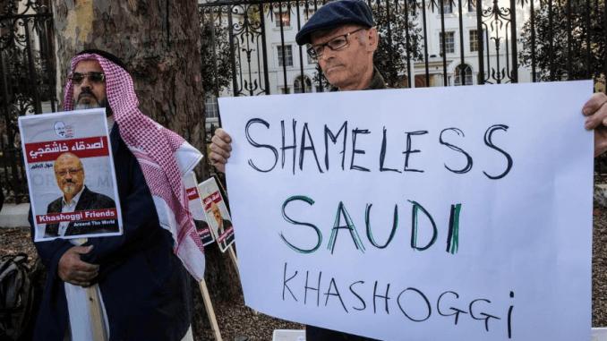 Pendemo kecam Saudi