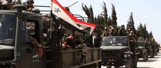 Tentara Suriah Masuki Aleppo