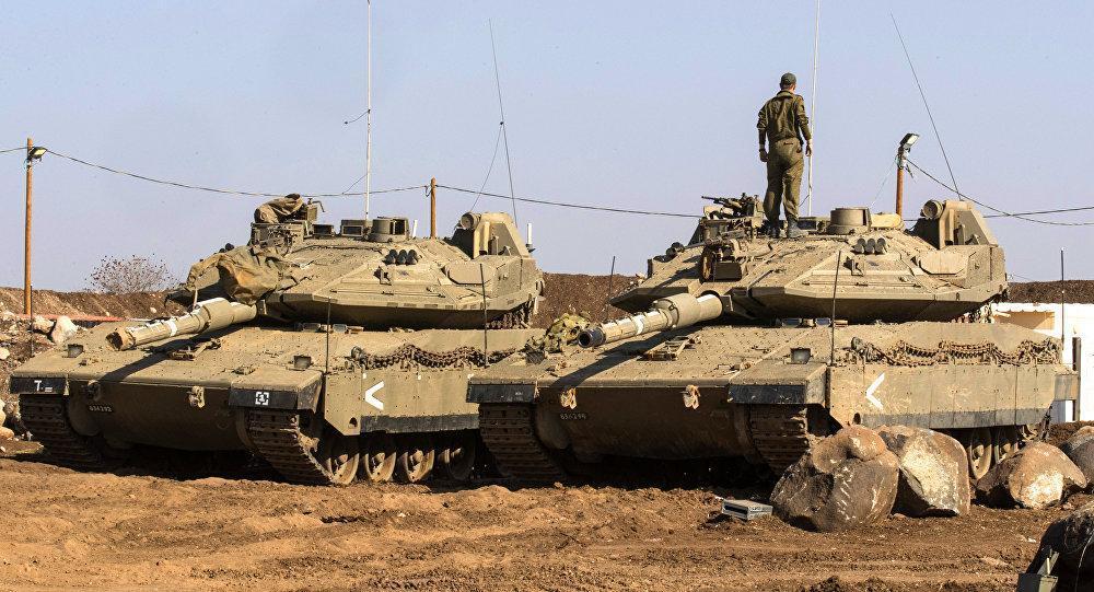 KONYOL! Kru Tertidur, Tank Merkava Israel Meluncur Sendiri ke Jalan Raya