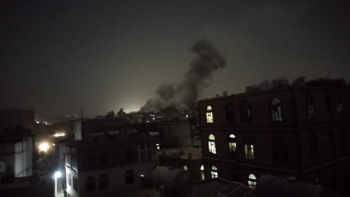 BREAKING NEWS! Koalisi Saudi Bombardir Sana'a, Targetkan Pabrik Makanan dan Rumah Warga
