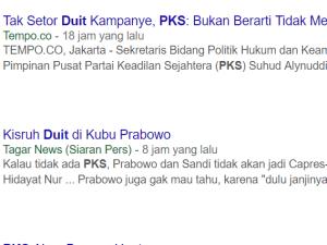 Geger kubu Prabowo