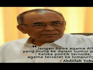 Politikus Abdillah Toha