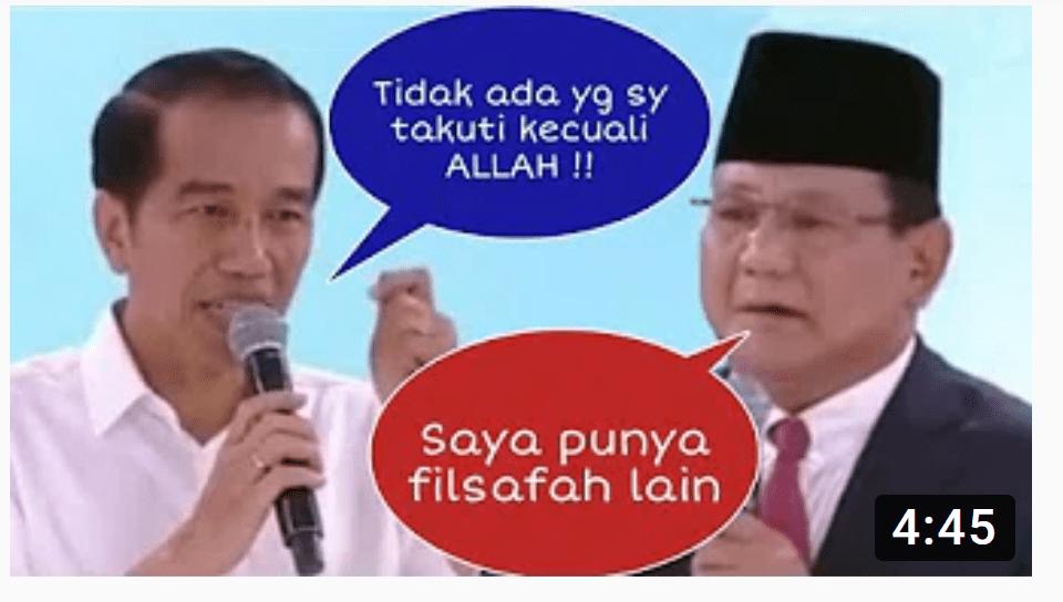 Joko Widodo: Demi Indonesia Maju, Tidak Ada yang Saya Takuti Kecuali Allah SWT