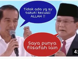 Closing Debat kedua pilpres 2019