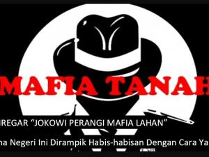 Denny Siregar, Perang Besar Jokowi Lawan Mafia Lahan