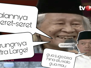 Hina Fisik Kyai Ma'ruf, Nusron Wahid Semprot Ridwan Saidi Saat di ILC