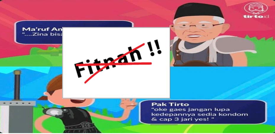 Blunder Meme Tirto Fitnah KH Ma'ruf Amin, Netizen dan Tokoh NU Marah