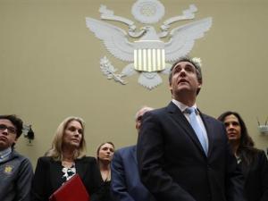 Mantan Pengacara Trump Bawa Sejumlah Dokumen Baru ke Kongres