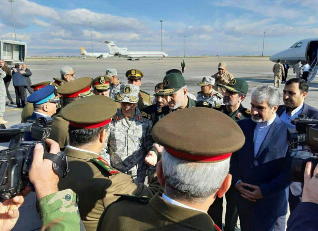 2 Jenderal Tertinggi Iran Mendadak Kunjungi Suriah