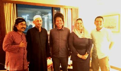 syech taufiq Al Buthy dan Tokoh Muda NU