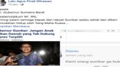 Netizen Mataram Kirim Surat Terbuka Menohok Kepada Gubernur Sumbar