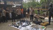 Barang bukti teroris Bogor