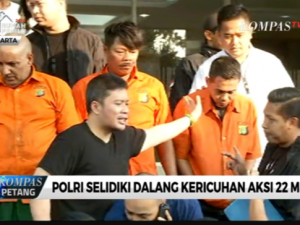 Perusuh 22 Mei ditangkap Polisi