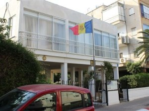 Kedubes Moldova di Yerusalem